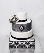BLACK DIAMOND DAMASK