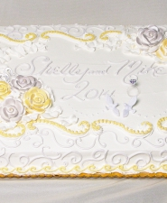 SHEET WEDDING CAKE