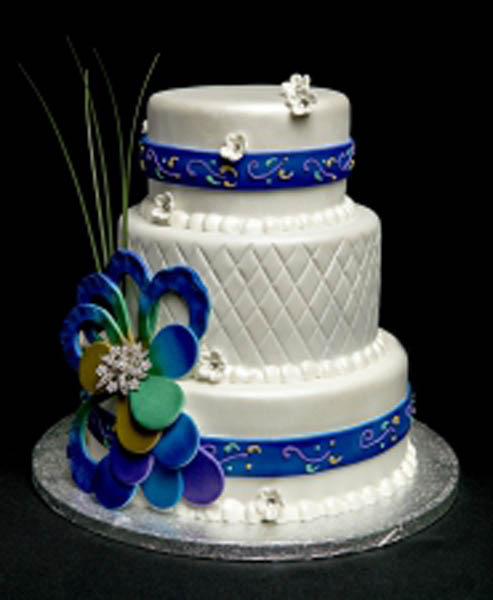 WEDDING CAKE_MAJESTIC PEACOCK_2015