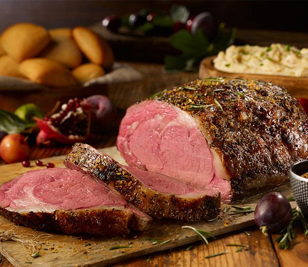 Image displaying Holiday menu food