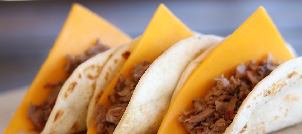 Brisket & Cheese Taco
