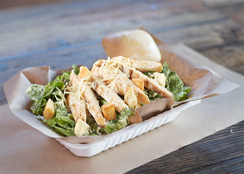 Caesar Salad with Meat image
