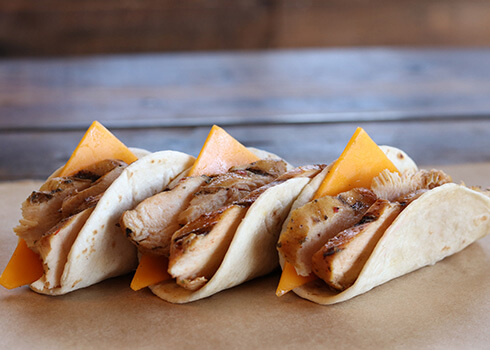 Chicken & Cheese Taco image
