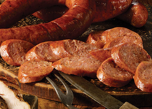 Polish Kielbasa Sausage image