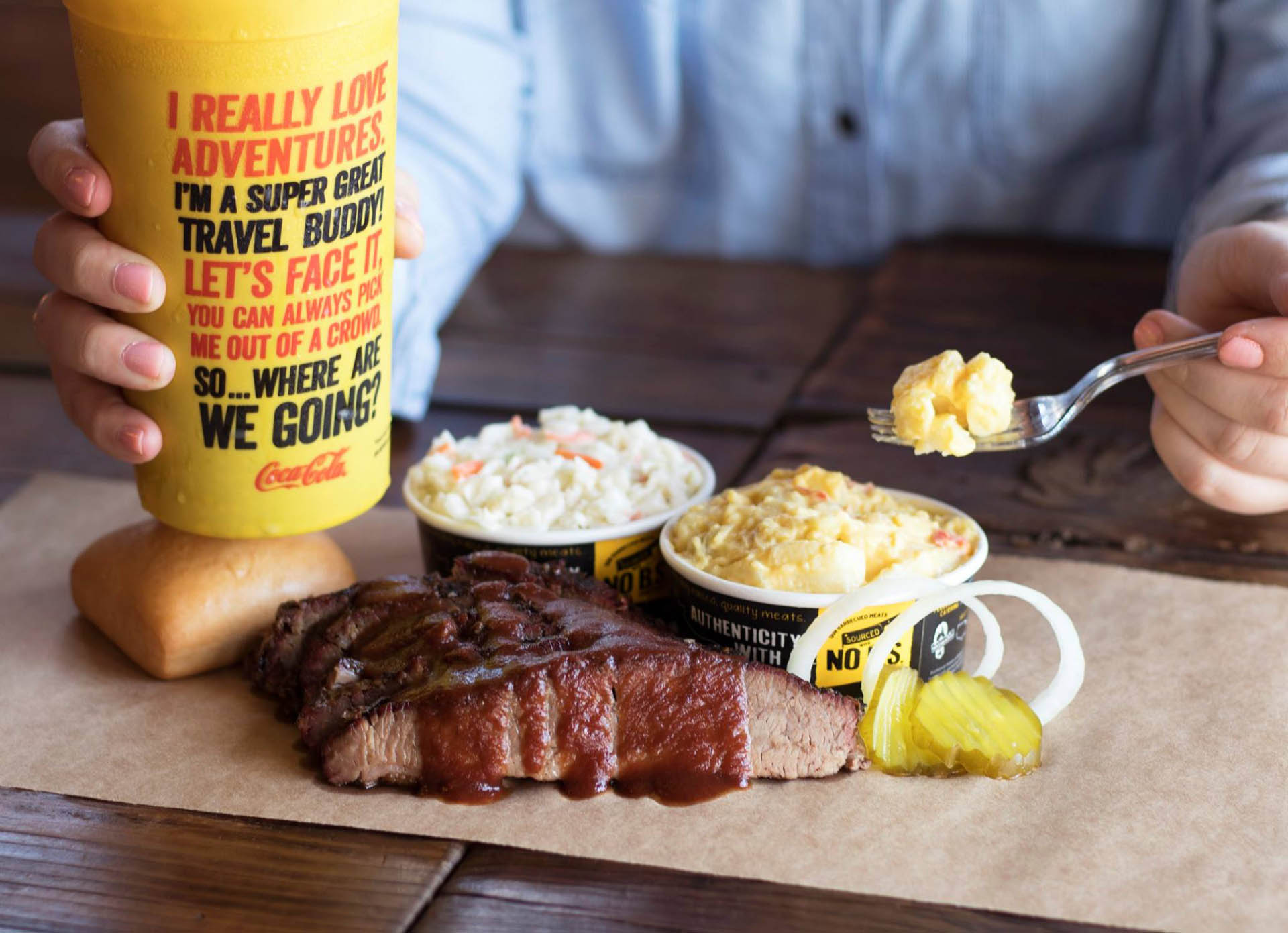 Brand Champion - Shannon Skains - Dickey's Barbecue Pit in Flowery Branch, GA