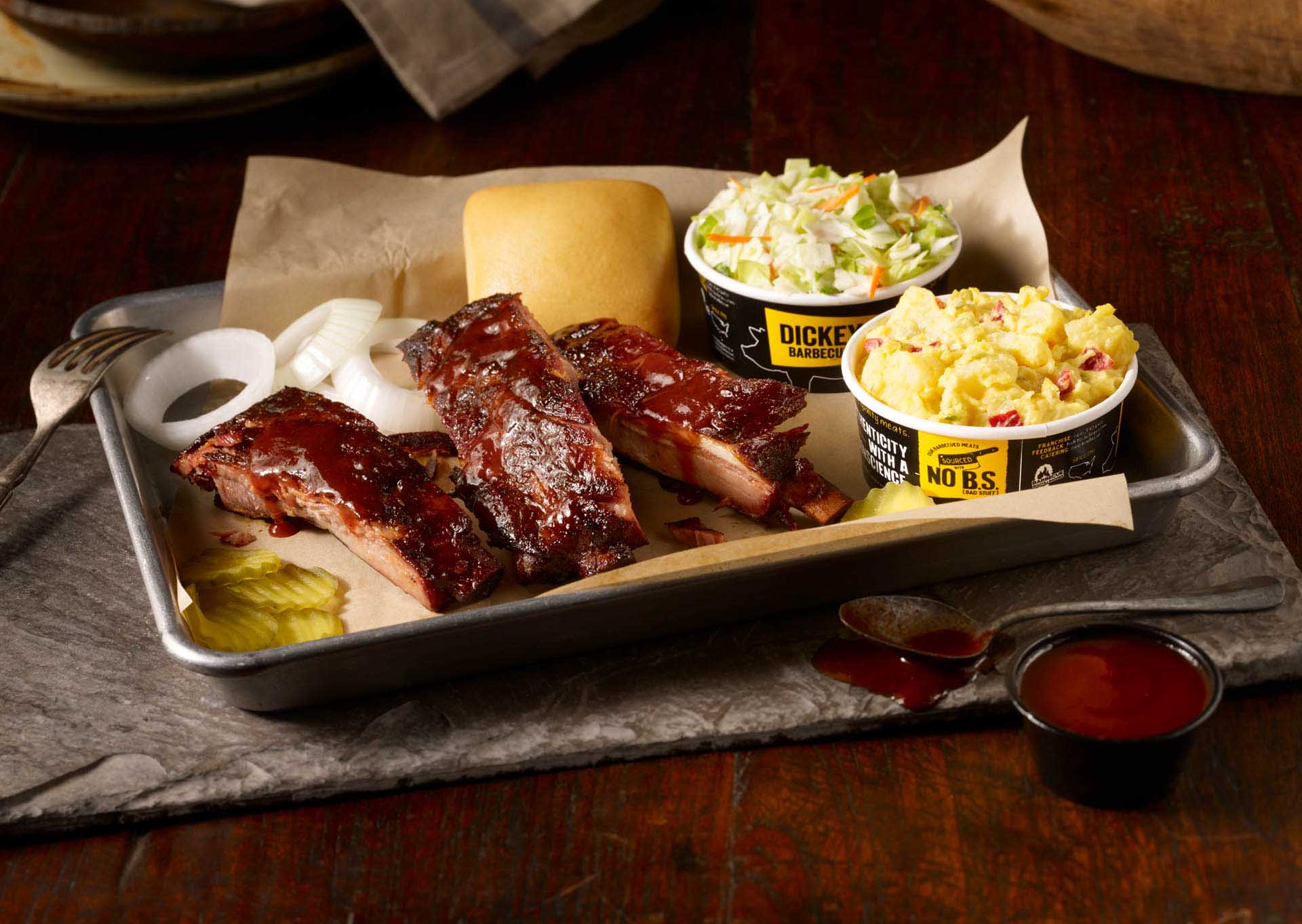 ChewBoom: All You Can Eat Ribs at Dickey's