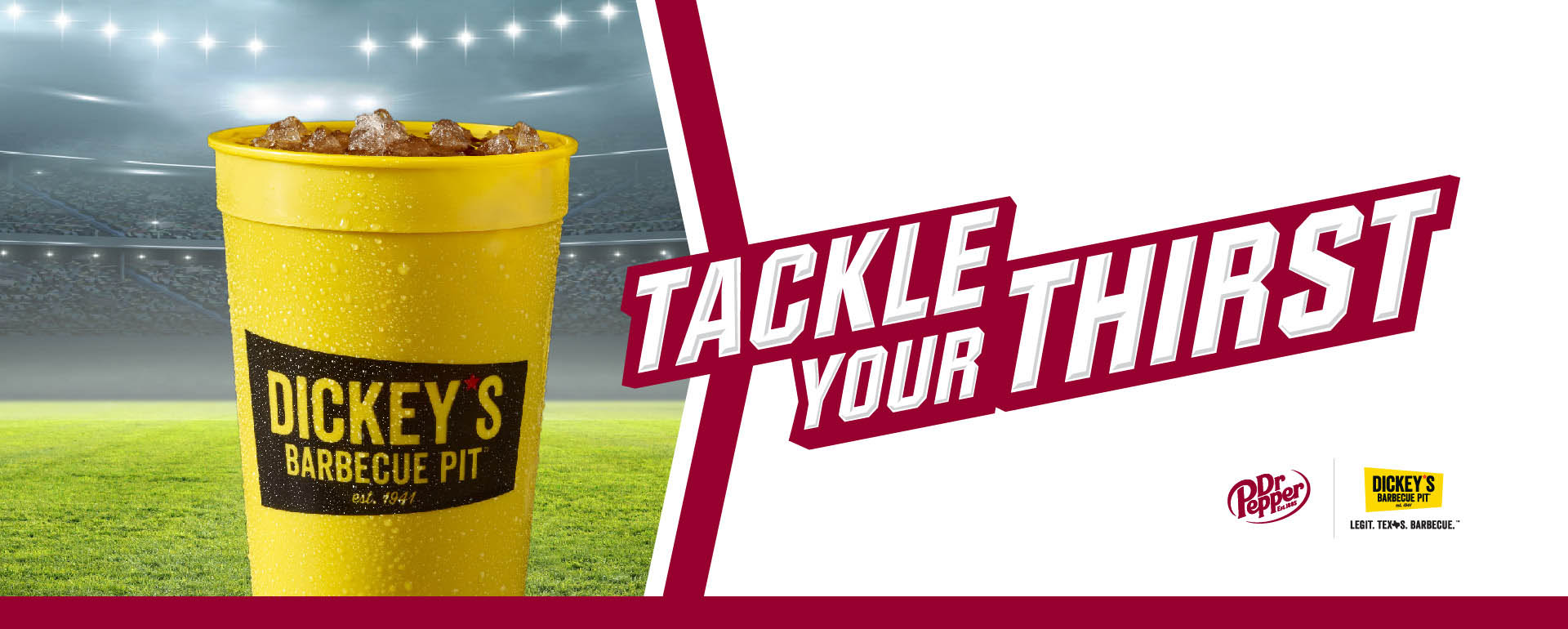 Tackle Your Thirst with Dr Pepper