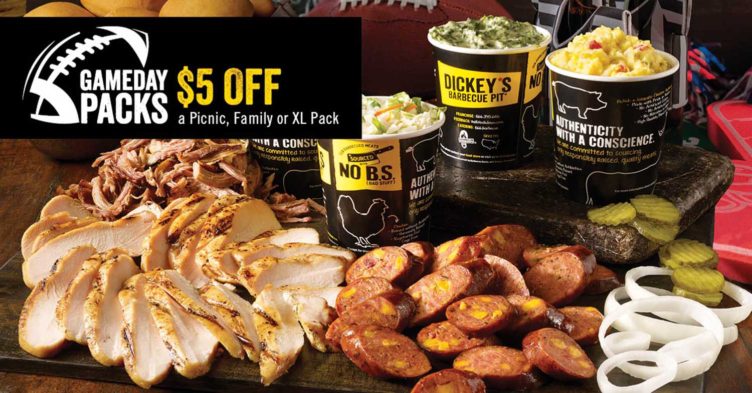 Score a Legit Deal this Game Day at Dickey's