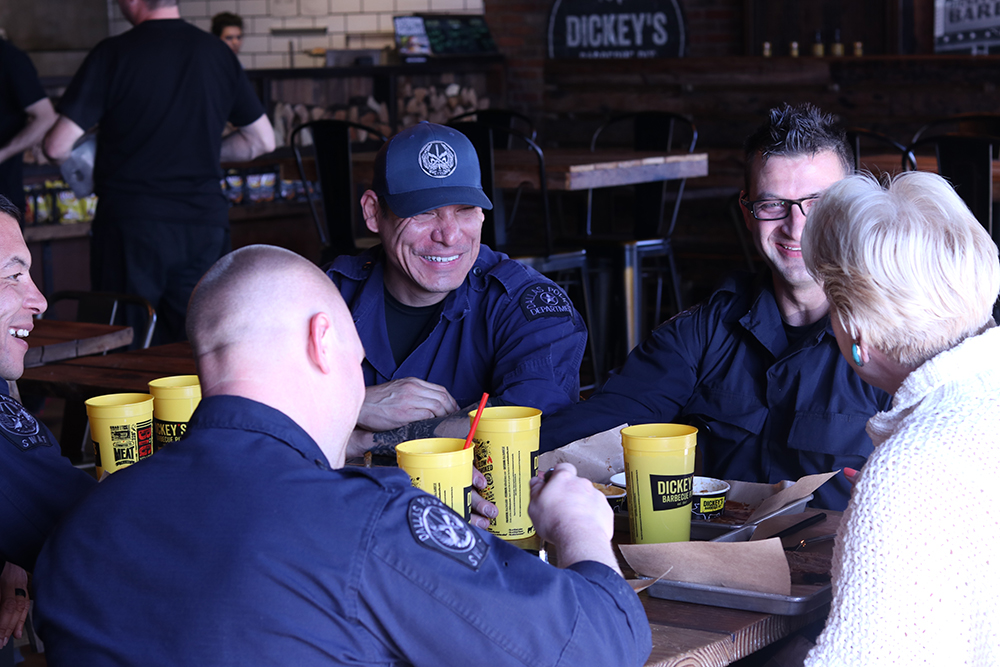 YakTriNews: Dickey's Barbecue Pit giving free meals to first responders in Tri-Cities