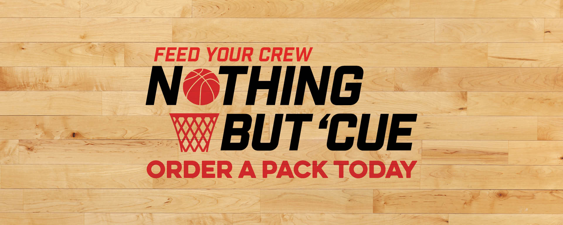 Feed Your Crew Nothing But 'Cue