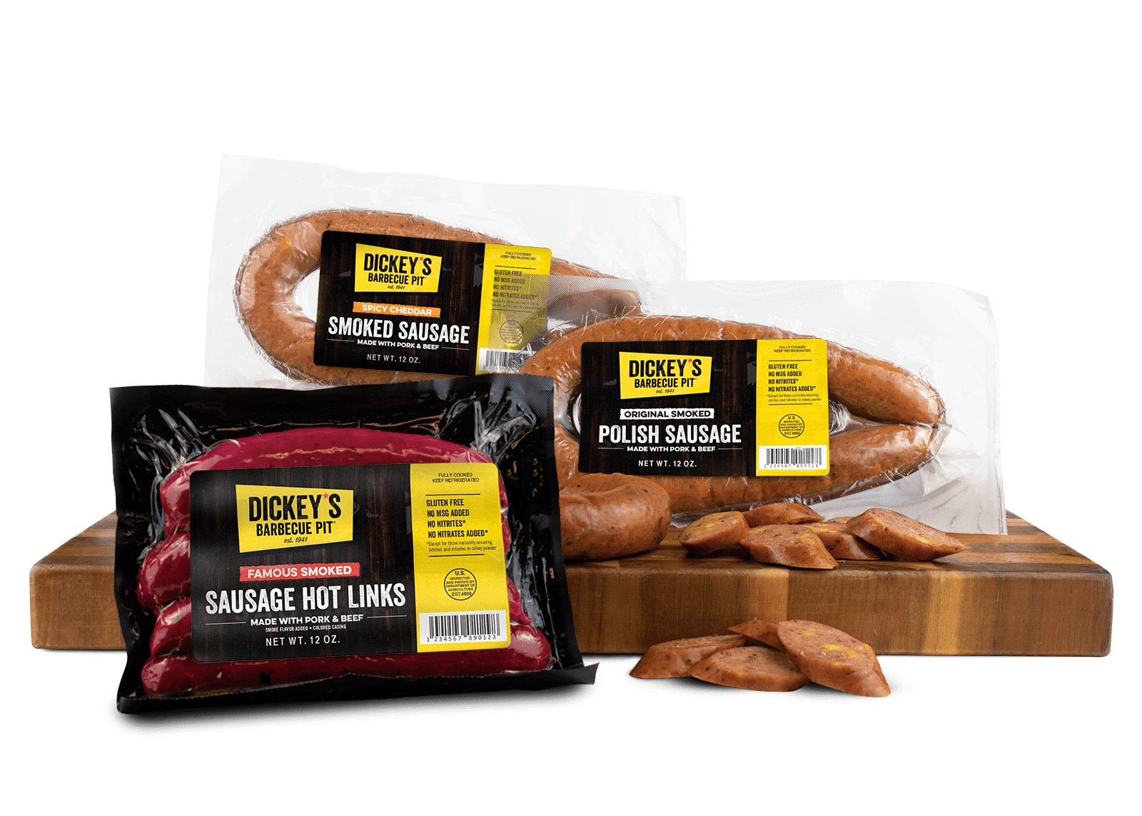 Dickey's Selling Sausage at Safeway and Albertsons Southwest Locations