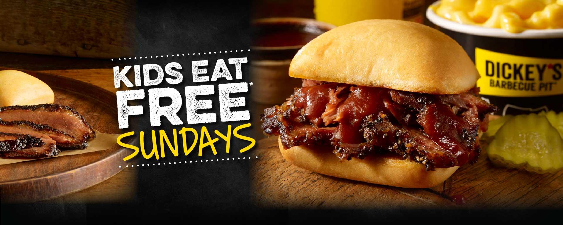 Kids Eat Free* Sunday