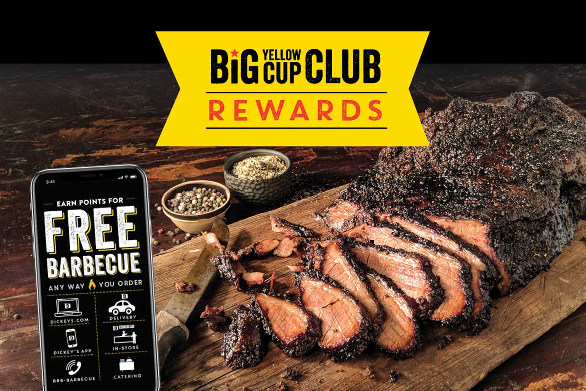 Dickey's Guests Can Earn Rewards Enjoying Slow-Smoked Barbecue