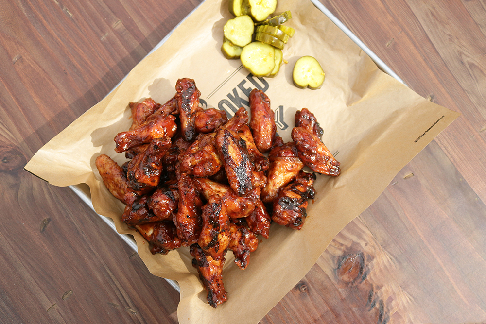 Brand Eating: Dickey's Serves Up New Pit-Smoked Chicken Wings
