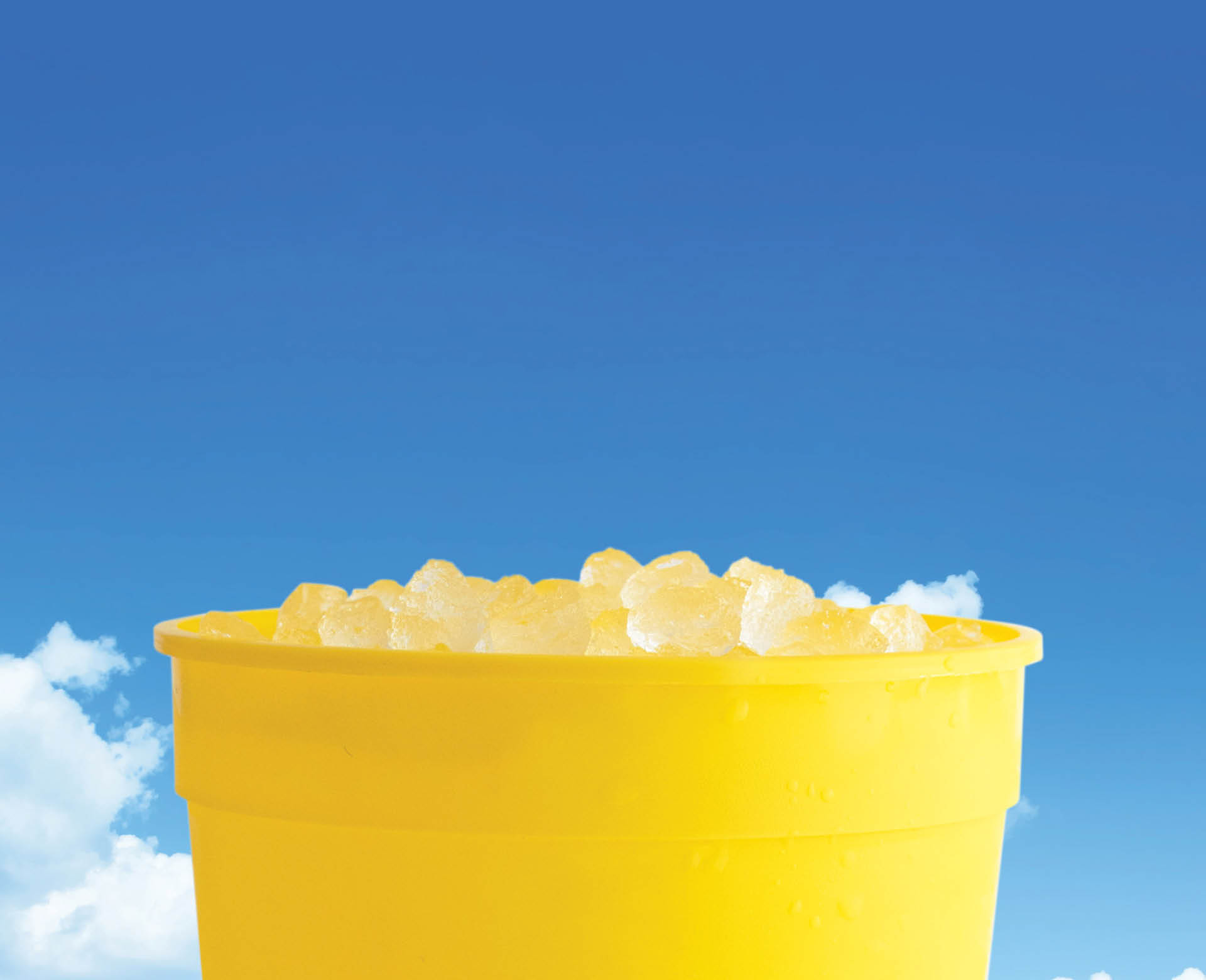 $1 Big Yellow Cup