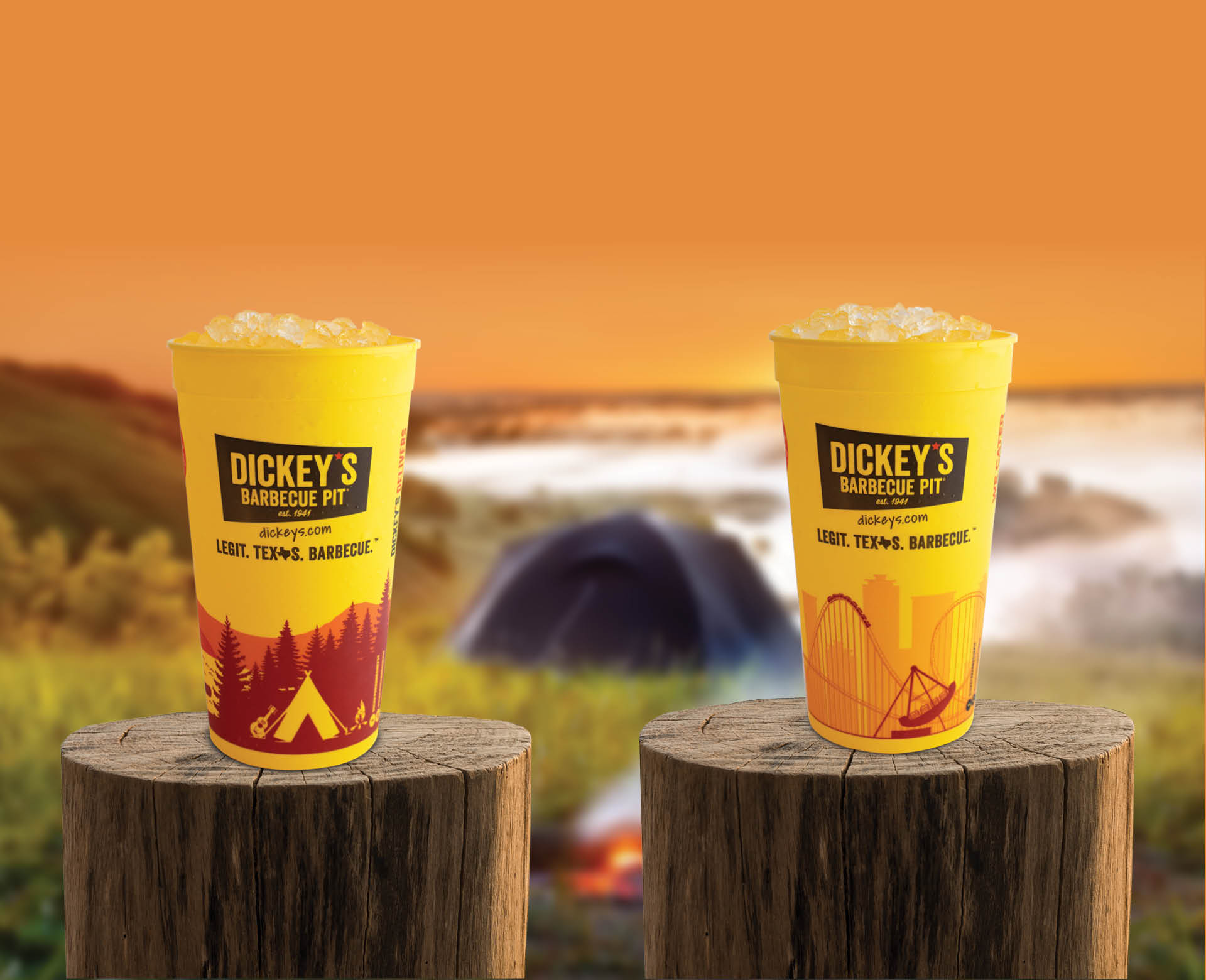 Collectible Big Yellow Cups