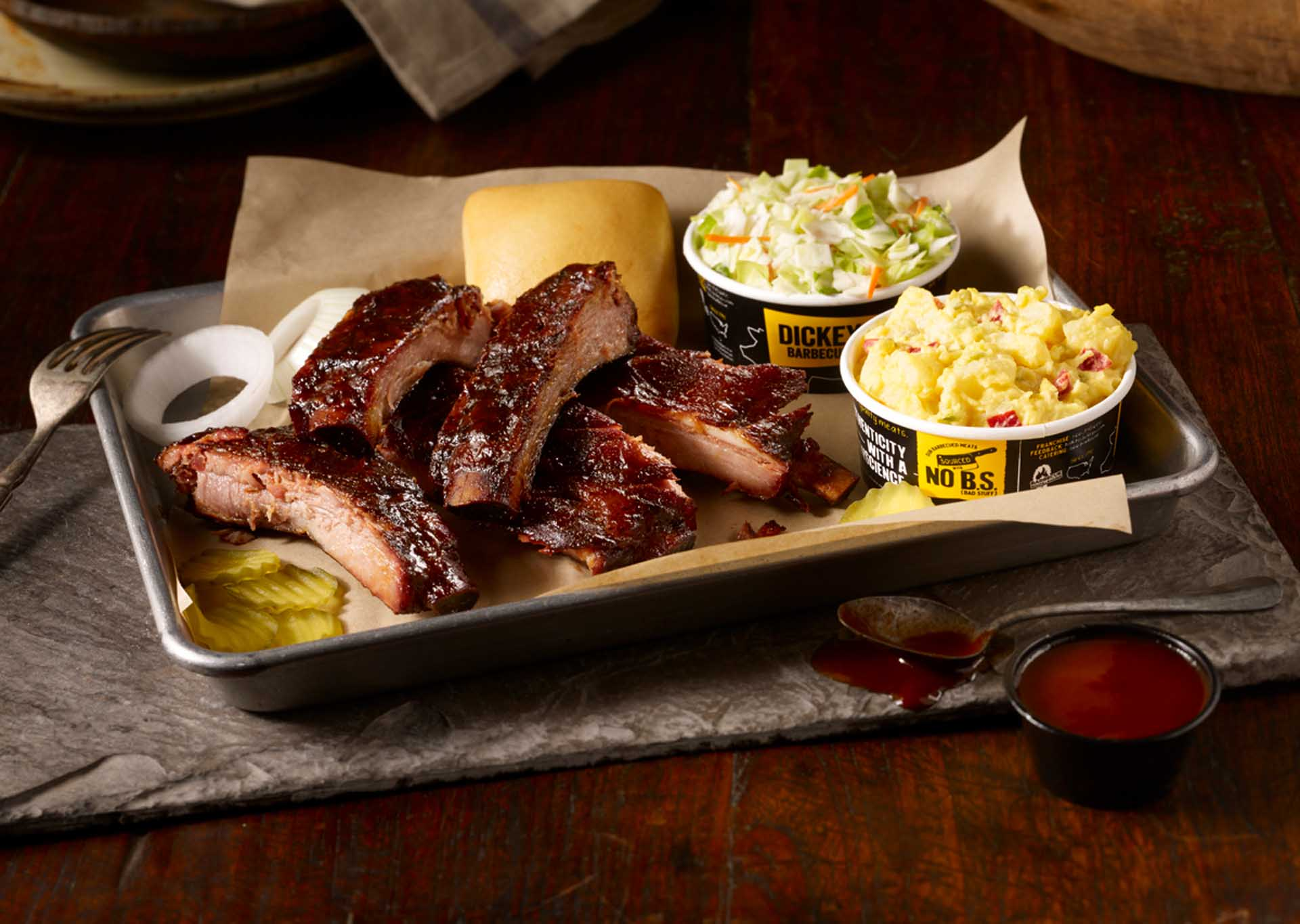 Volume One:Dickey's Barbecue Pit Features Southern BBQ