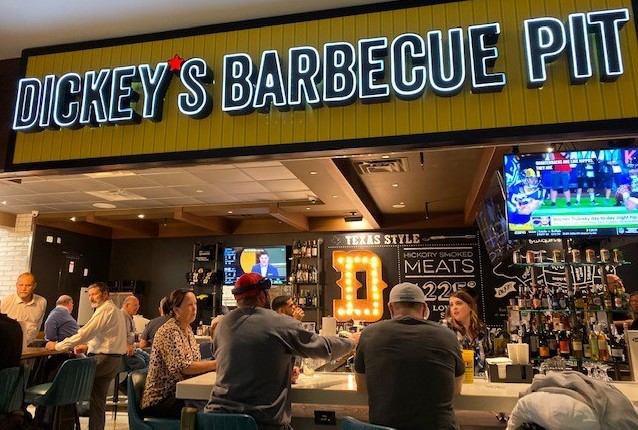 QSR: Dickey's Opens Full-Bar Location at DFW Airport