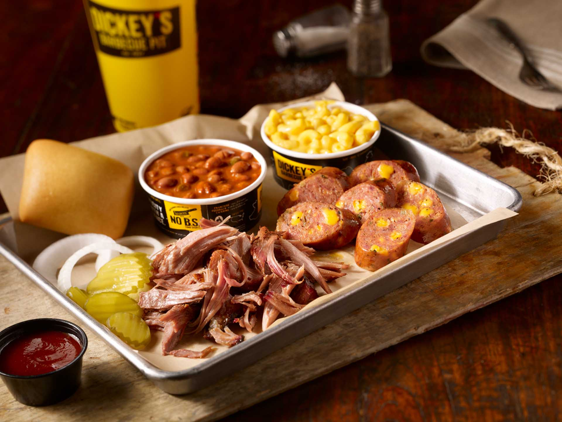 Global Franchise: Dickey's BBQ pit
