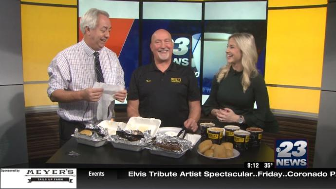 23 WIFR: Dickey's Barbeque
