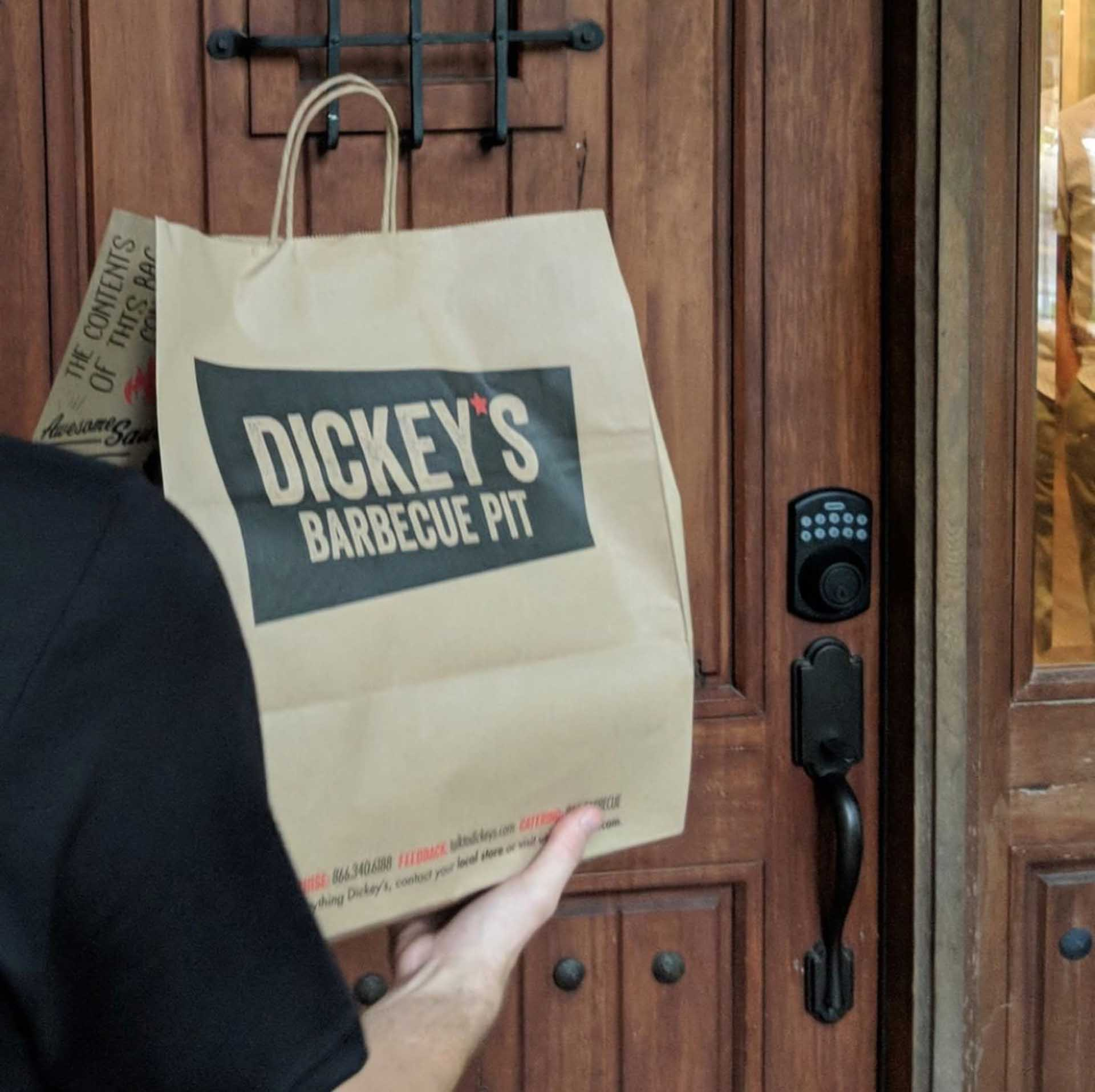 Free Delivery Through March at Dickey's Barbecue Pit