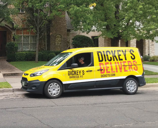 Dickey's Delivers