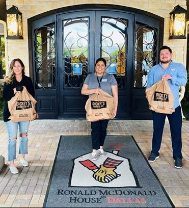 Dickey's Barbecue Pit: Catering for The Ronald McDonald House of Dallas