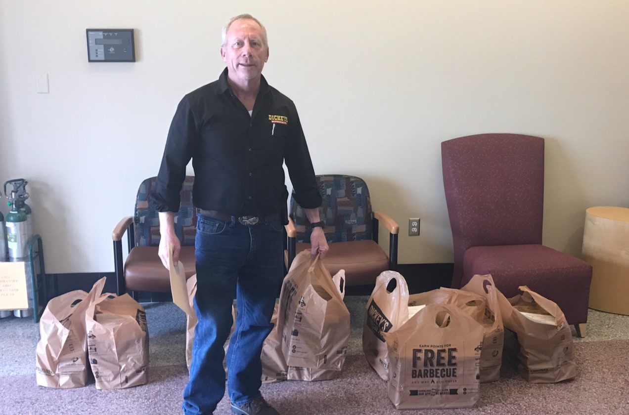 Dickey's Barbecue Pit: Colorado Springs First Responders Receive Sponsored Catering