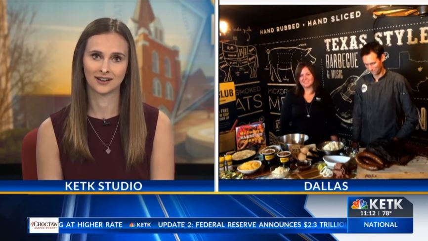 KETK East Texas Live: Dickey's Barbecue Pit gives a demonstration on how to make Easter dinner special