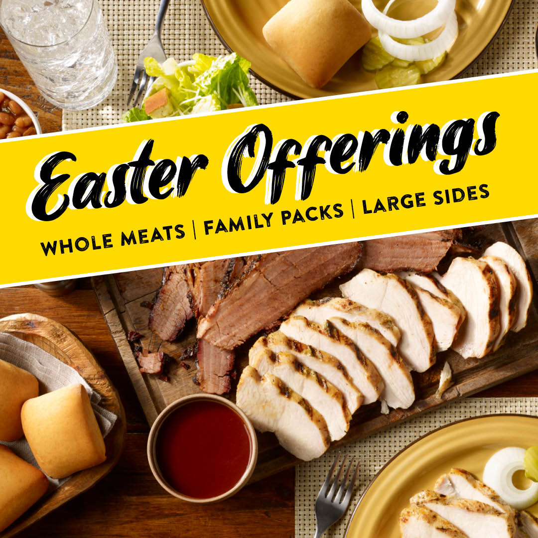 Dickey's Barbecue Pit Celebrates Easter with Free Delivery and Family-Sized Meals