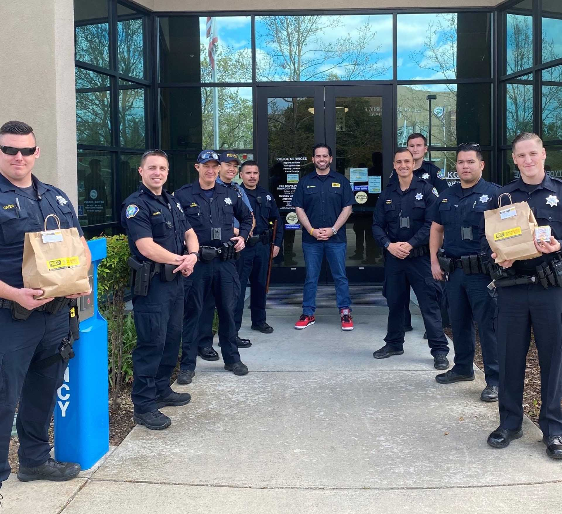 Dickey's Barbecue Pit: Serving the Elk Grove Police Department