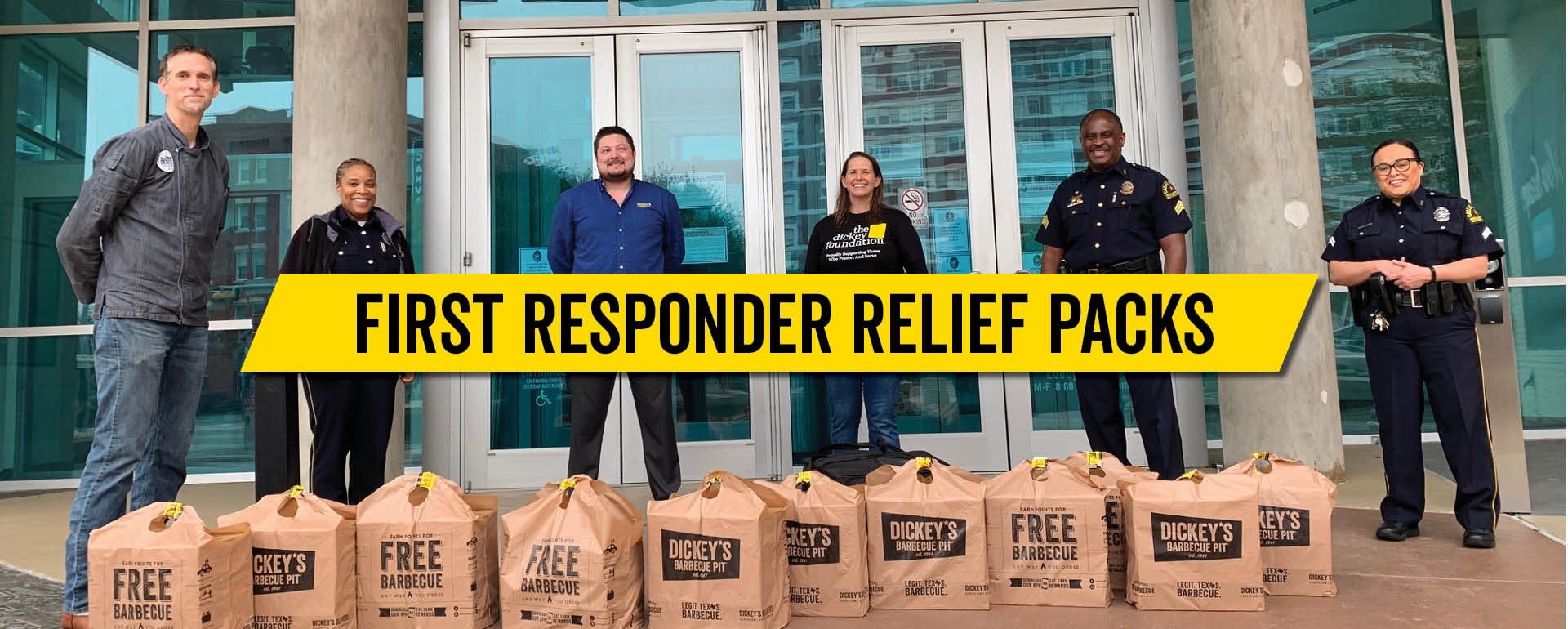Say Thanks with First Responder Packs