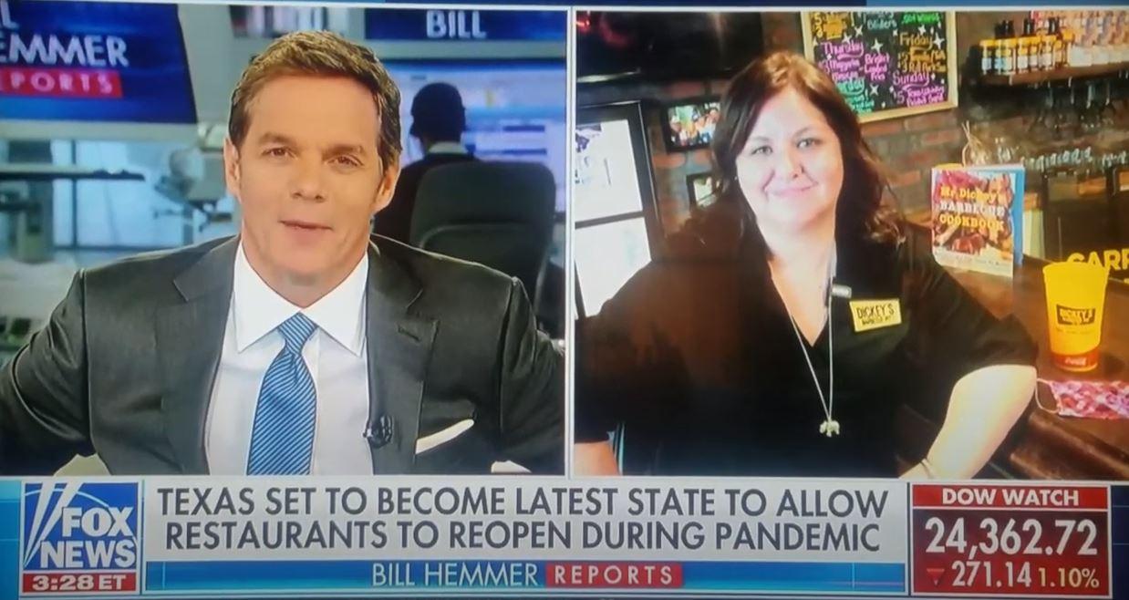 FoxNews: Laura Rea Dickey speaks with Bill Hemmer Reports of Fox News