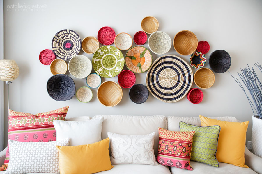 Wall Baskets Decor fair trade baskets: wall decor - conscious living tv