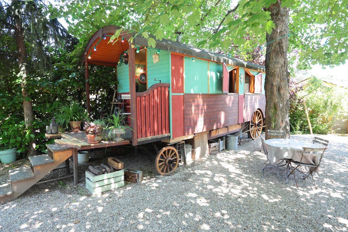 A Gypsy Caravan In France