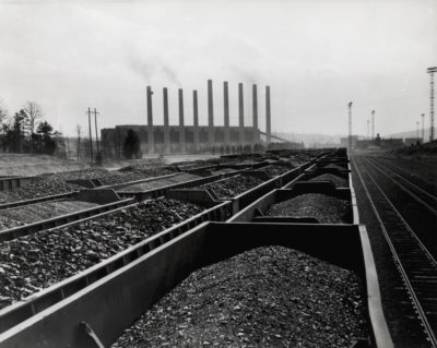 Coal Trains With Stacks Doe Flickr