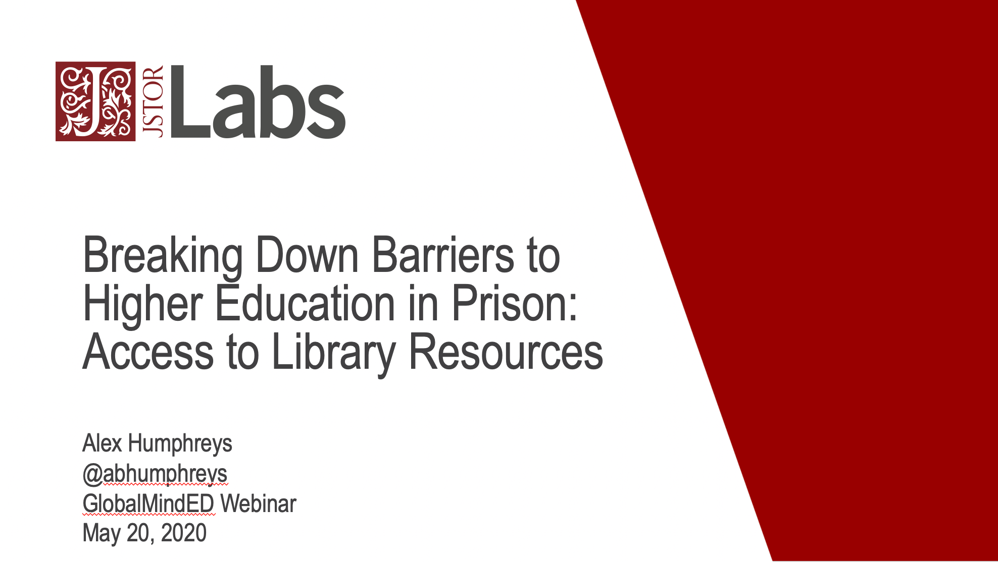 Breaking Down Barriers to Higher Education in Prison: Access to Library Resources