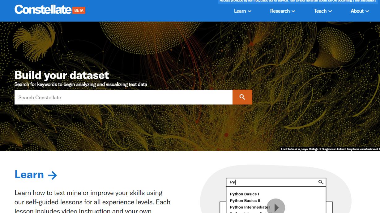 Constellate Technical Webinar