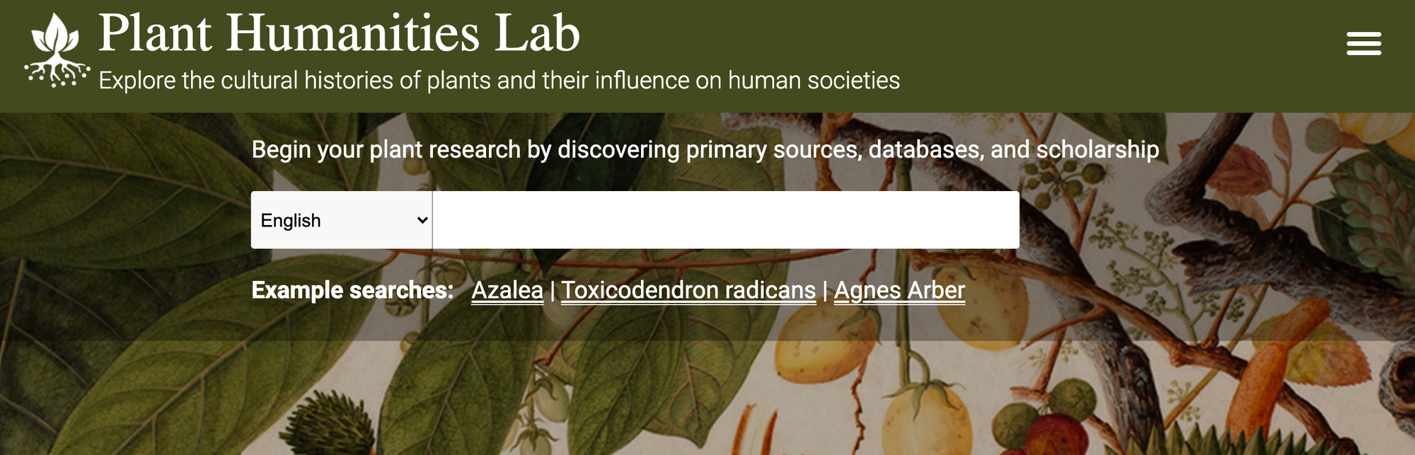 Introducing the Plant Humanities Lab
