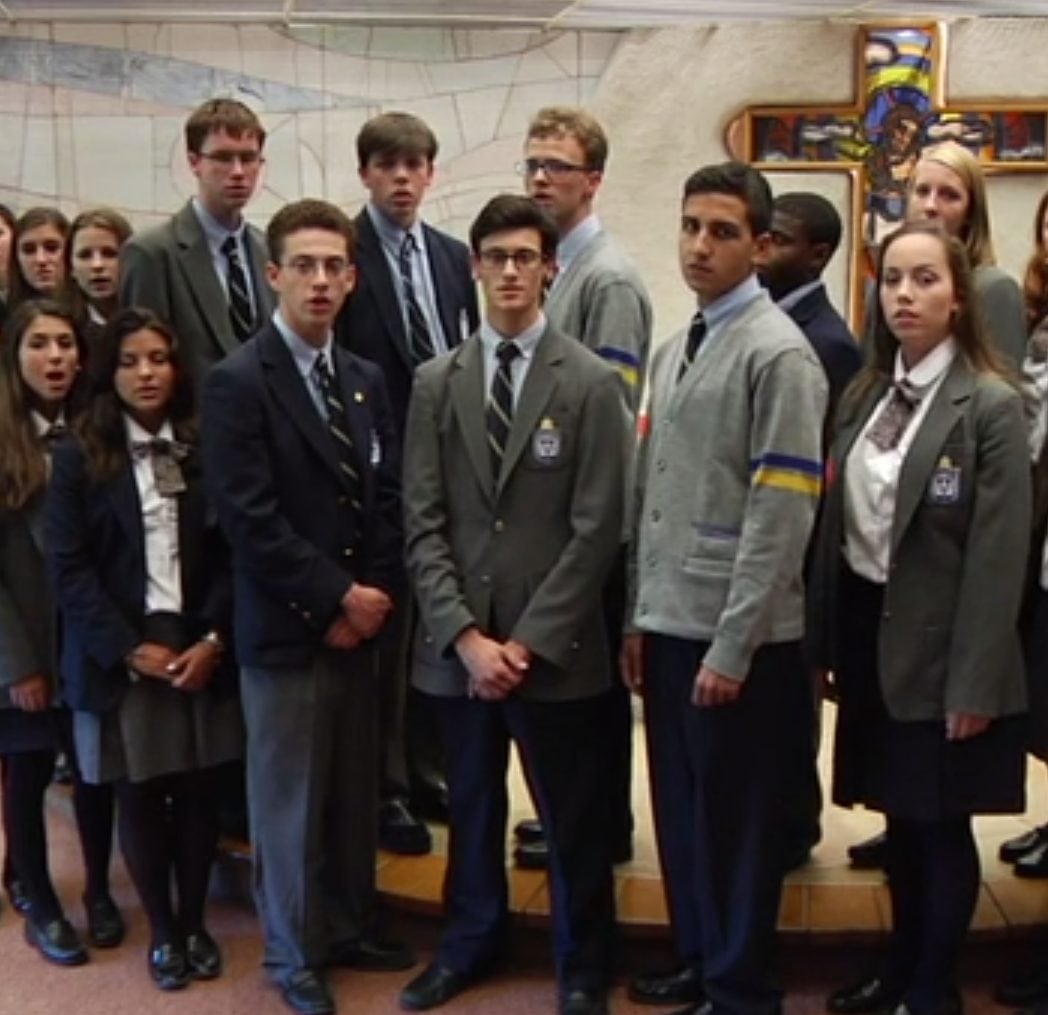 Kellenberg Holds Annual Rosary Prayer Service Kellenberg Memorial High School