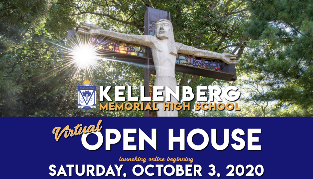 Join us for our Virtual Open House on October 3! Visit Kellenberg.org/openhouse to learn more!