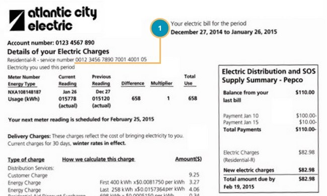Atlantic City Electric Bill | ElectricityRates.com