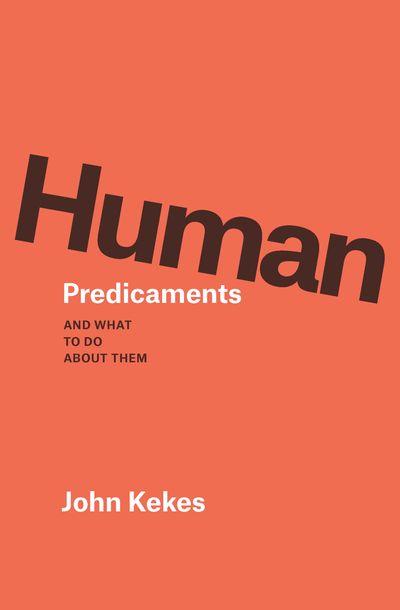 Buy Human Predicaments at Amazon