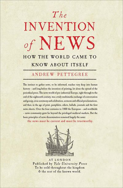 Buy The Invention of News at Amazon
