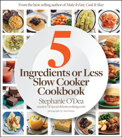 Buy 5 Ingredients or Less Slow Cooker Cookbook at Amazon