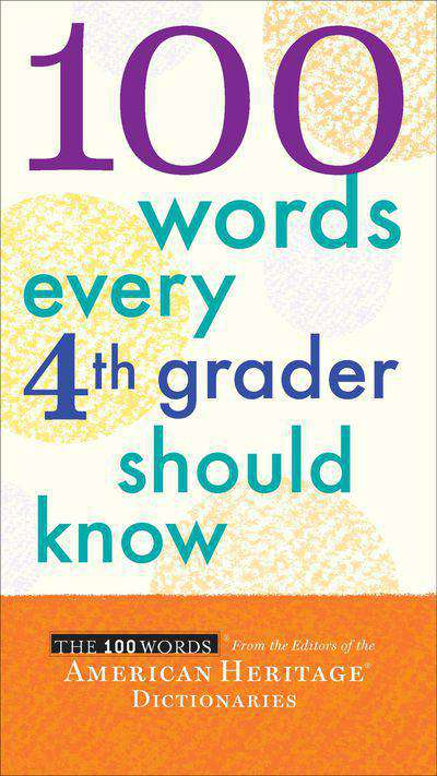 Buy 100 Words Every 4th Grader Should Know at Amazon