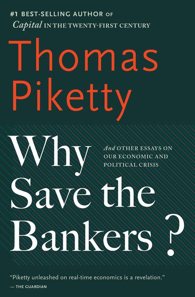 Buy Why Save the Bankers? at Amazon