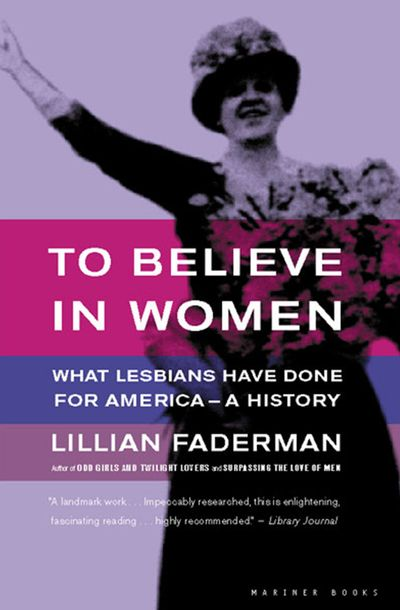 a literary analysis of the odd girls and twilight lovers by faderman A history of sexual outlaws, power politics, and lipstick lesbians by lillian faderman and stuart timmons new york: basic.