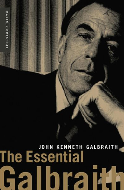 Buy The Essential Galbraith at Amazon