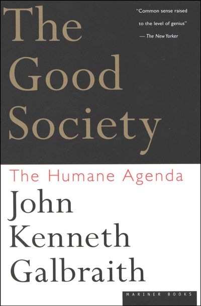 Buy The Good Society at Amazon